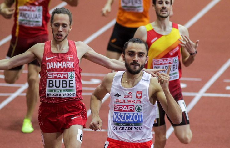 Adam Kszczot - złoty medal w biegu na 800 m