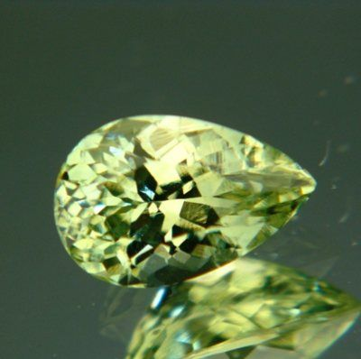 Gemstone: Untreated Sapphire - Carat: 2.17 - Comment: Fresh grass green Ceylon sapphire in precision cut, with zero inclusions and no window.   http://wildfishgems.com/inc/sdetail/16796