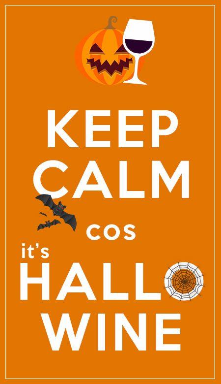 Keep Calm cos... it's HalloWine ;)  #halloween #hallowine #wine #winelover #chianti #tuscany #italy #love #keepcalm