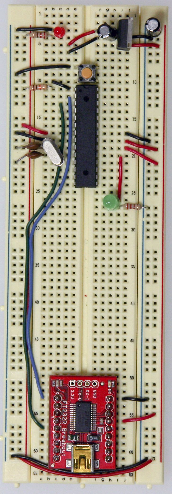 Building an Arduino on a Breadboard                                                                                                                                                      More