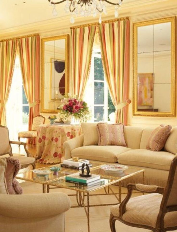 Awesome 94 Beautiful French Country Living Room You Should Try  Https://cooarchitecture. Part 47