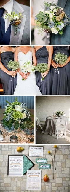 grey and green weddings Autumn Destination Wedding Ideas- Become a VIB today for more great wedding resources and deals from all of our VIB Wedding Vendors