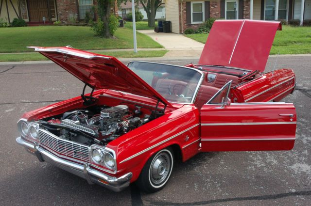 1964 CHEVY IMPALA 409 CONVERTIBLE,CLASSIC,SHOW CAR,CRUISER ...