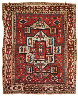 Turkish Bergama Canakkale rug, mid 19th c