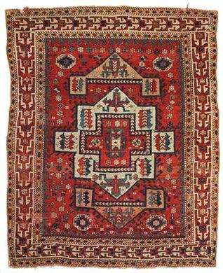 Turkish Bergama Canakkale rug, mid 19th c