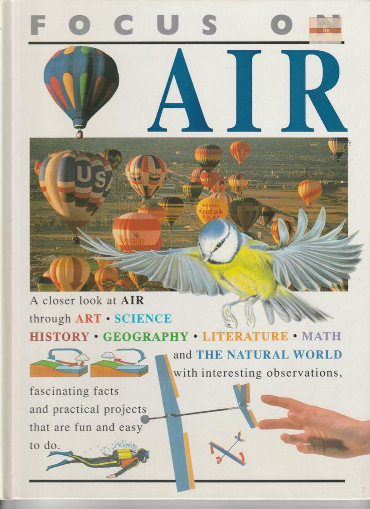 Shooting Star Press ~ Focus on Air ~ Barbara Taylor ~ Aladin Books Ltd ~ Published 1995 by OldDustyRustyFun on Etsy