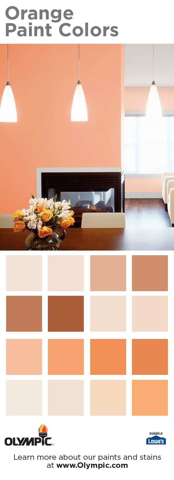 Demand Attention With Stimulating Orange Rooms - Orange is my favorite color!  Reminds me to both the sunrise and the sunset