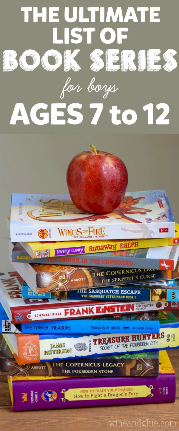 This Is The Ultimate List Of Book Series For Boys Ages 7 To 12! So