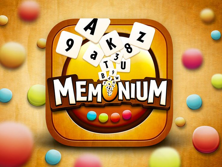 Memonium - Numbers & Letters iOS Icon by MadSquare