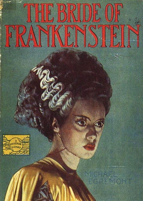 vintage movie poster:  bride of frankenstein 1935