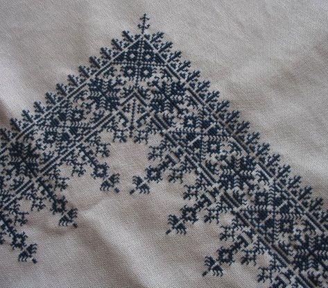 Moroccan embroidery - Fez stitch