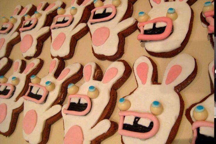 RABBIDS Cookies....