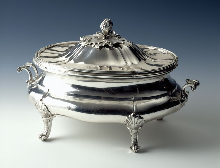 More than $21 million worth of silver and gold was extracted from Mexican mines in 1791, leading Spanish silversmiths to relocate to Mexico. This ca. 1733-78 tureen has a mark identifying Mexico as its place of origin. See it and other fascinating objects in Made in the Americas, opening March 26. Campbell Collection of Soup Tureens at Winterthur 1996.4.231
