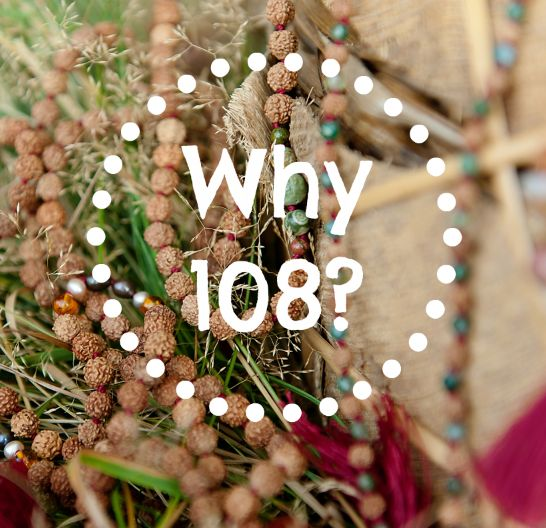 Why are there 108 seeds on my mala beads? // #malabeads #meditation #malacollective