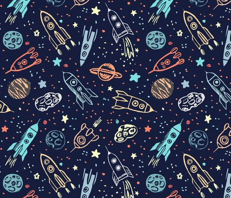 17 best ideas about space wallpaper on pinterest falsche for Space inspired fabric
