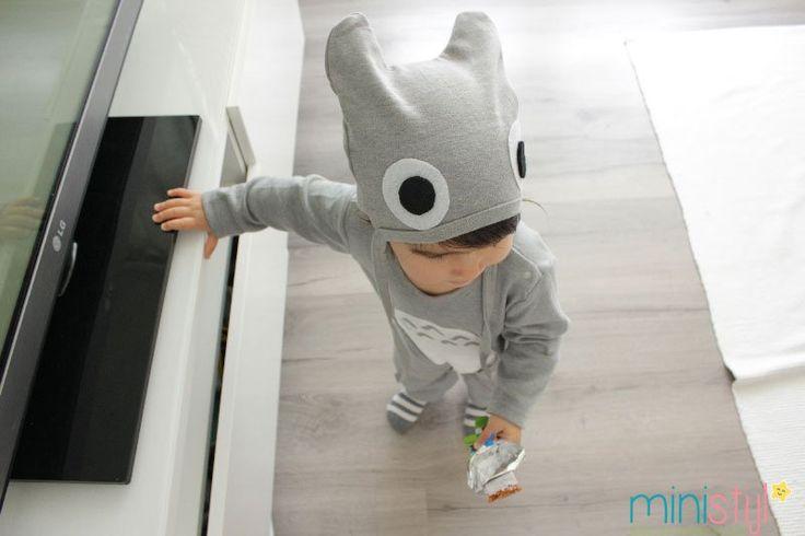 Totoro onesie   DIY - ministijl