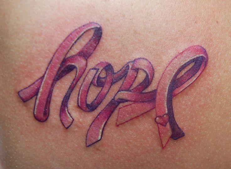 One of my favorite Breast Cancer tattoo designs / Much <3 & prayers for all affected by this!