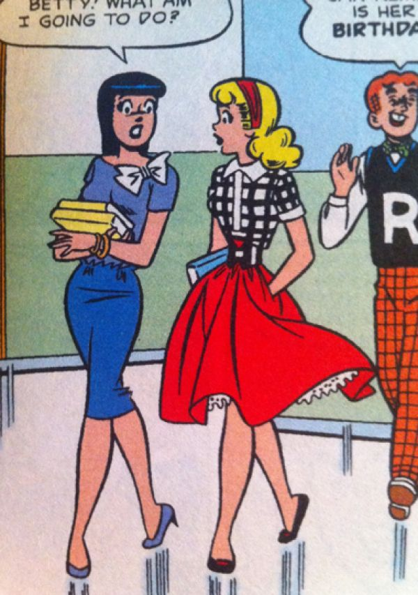 1950s betty and veronica