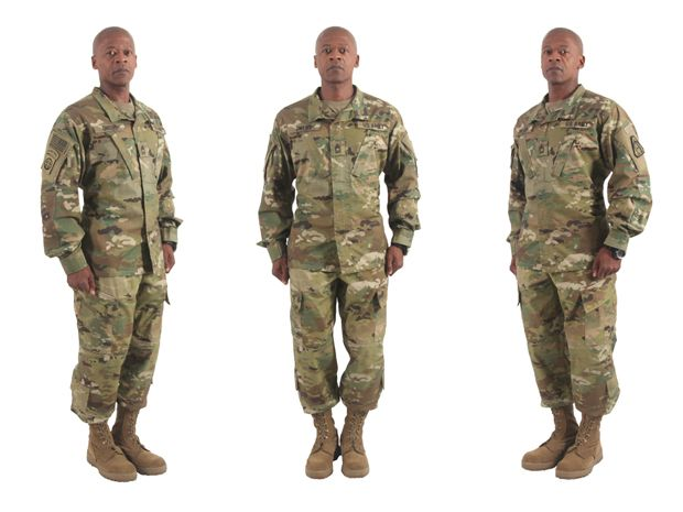 Army Uniform Colors - Shemale Fingering - photo#5
