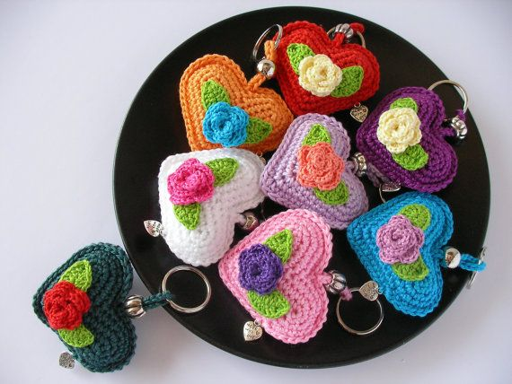 Big Heart Amigurumi Pattern : 112 best images about amigurumi keychains on Pinterest ...