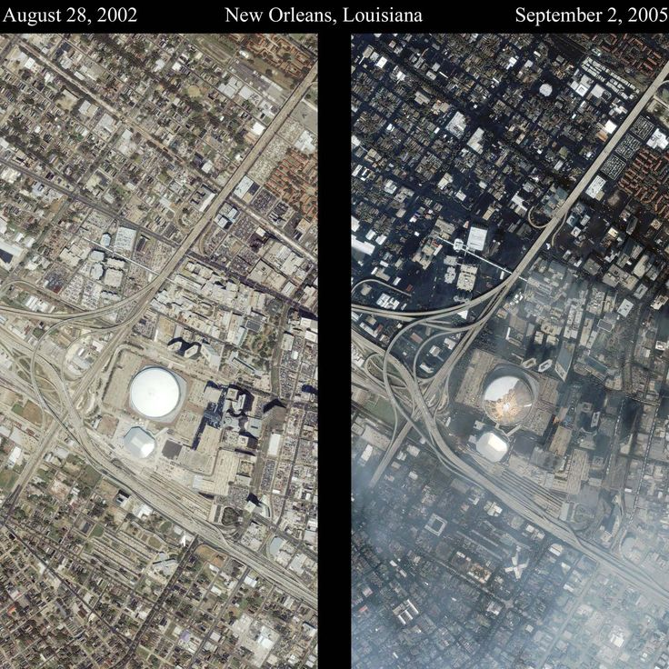 new orleans katrina before after Living with Water Pinterest