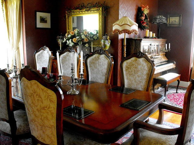 14 best images about an inspector calls setting on for Edwardian dining room ideas