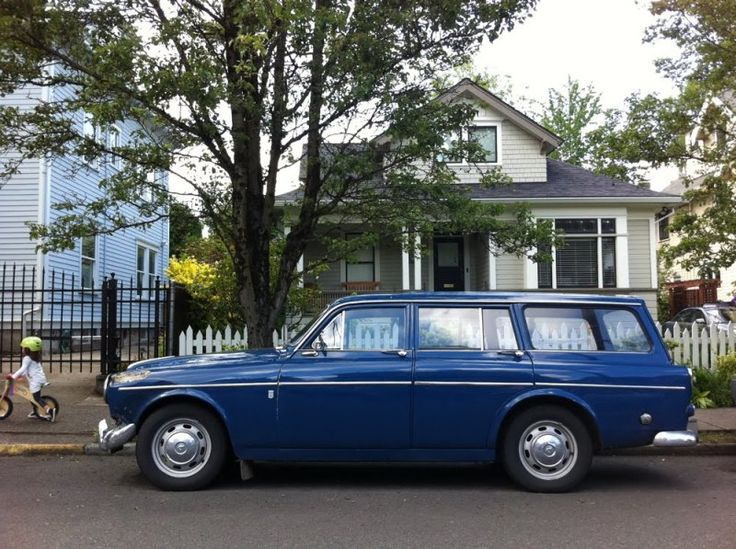 1965 Volvo Amazon 122S Wagon long john blog indigo blue jeans denim authentic usa sweden raw rigid wheels car wagon (1)
