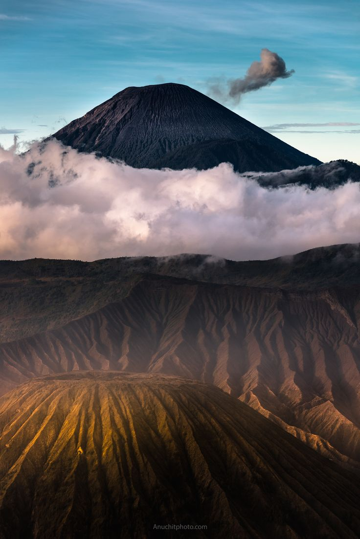 Semeru | l Mount Bromo, an active volcano and part of the Tengger massif, in East Java, Indonesia by Anuchit