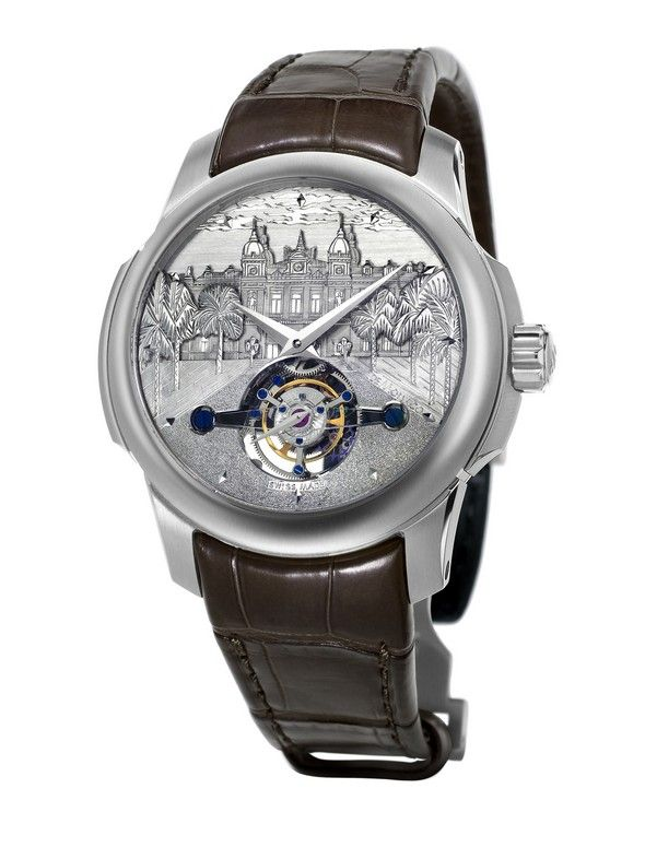 LUXURY WATCHES: TOURBILLON CASINO DE MONTE-CARLO | #luxurywatches #watches #tourbillon #casinodemontecarlo #tourbilloncasinodemontecarlo #limitededition #baselshows #basel #mostexpensive | http://www.baselshows.com/most-expensive-2/luxury-watches-tourbillon-casino-de-monte-carlo