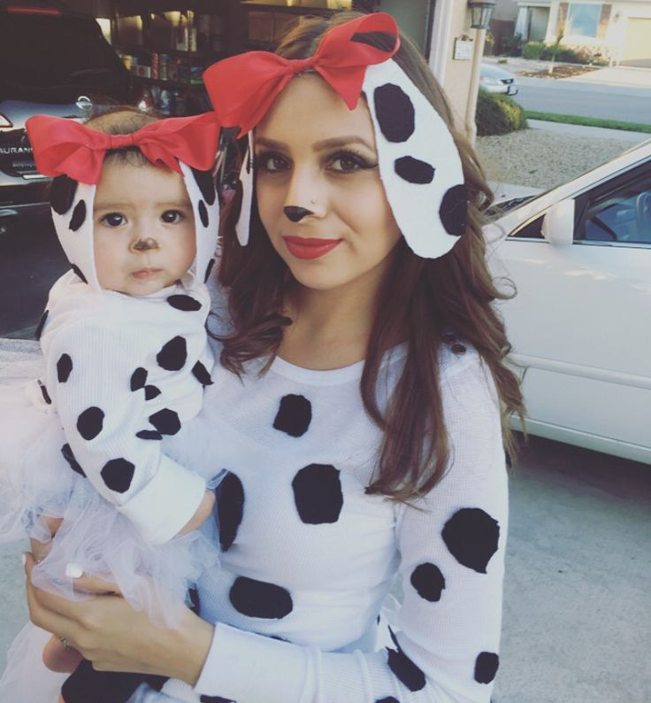 Dalmation costume #babycostume #dalmations