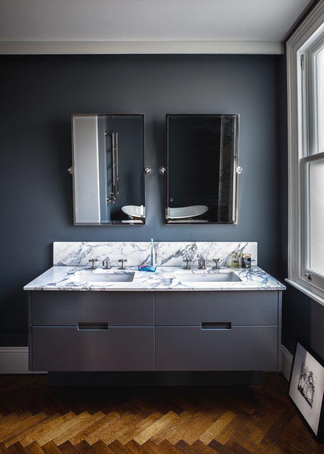 Sutton Countertop Vanity Unit And Double Camila Basin Bathroom