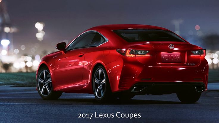 2017 Lexus Coupes from McGrath Lexus of Chicago Serving Cicero Oak Park and Berwyn IL!