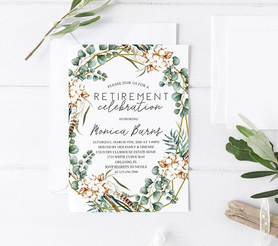 7 best For mom images on Pinterest Retirement party invitations - invitation templates for farewell party