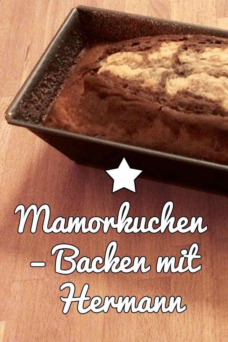 Ein Marmorkuchen mit Hermann-Teig – #Rezept #Sauerteig #Fermentation