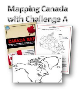 Helpful resources for mapping Canada - great for CC Challenge A or anyone studying Canada Geography