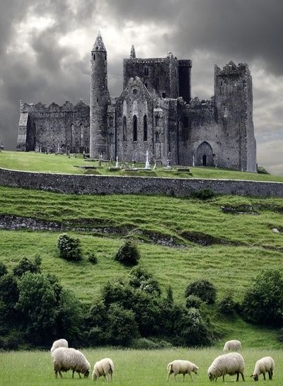 The Rock of Cashel, Ireland- BREATHTAKING. Where St.Pat converted the people of Ireland to Catholicism <3
