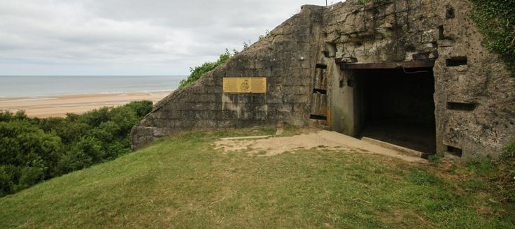 strategically placed German bunkers still exist in Normandy See more photos at RenovationBootcamp.com
