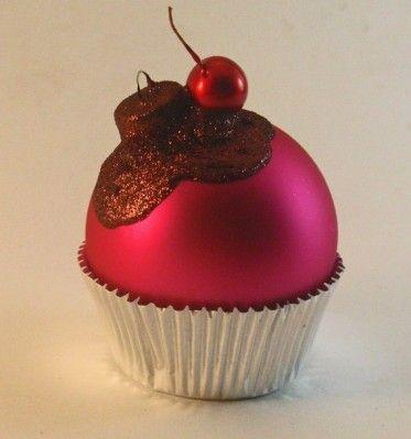 More Cupcake Christmas Ornaments - All Things Cupcake