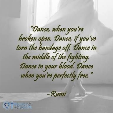 Dance, a freeing expressive modality transporting to spirit and soul depths