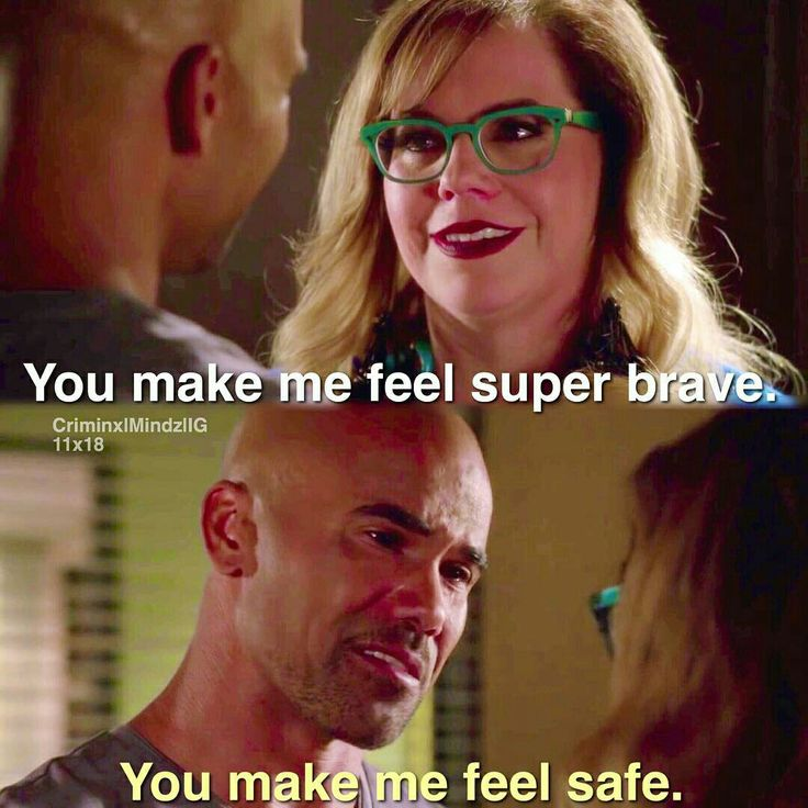 I don't watch criminal minds but gahh this is too cute