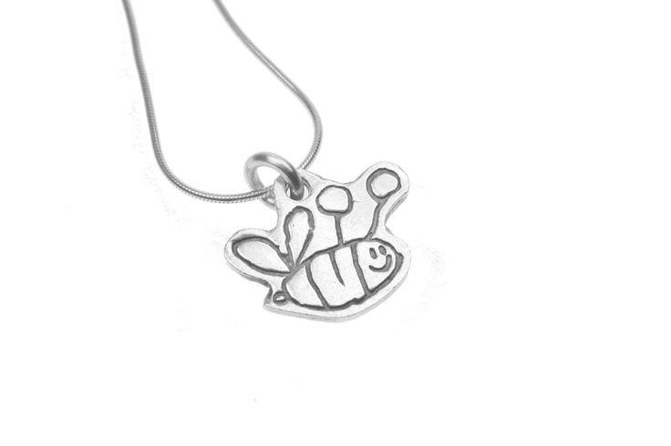 Mini Masters Cutout Pendant on Snake Chain by Smallprint. www.smallprint.co.za