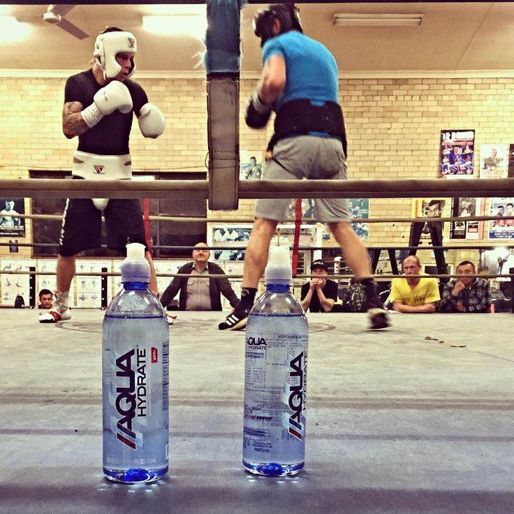 The Days Are Drawing Closer To The Big Title Fight, Another Great Day Of Sparring, Pushed Out A Real Good 10 Rounds With 2 Different Sparring Partners, Ofcourse With The Best Water In The World Hydrating Me By Myside @aquahydrate Don't Forget This Saturday At The Tszyu Boxing Academy, 4.30pm Come Watch Me Spar Live At The Official Ferocious Fan Day #teamferocious #aquahydrate