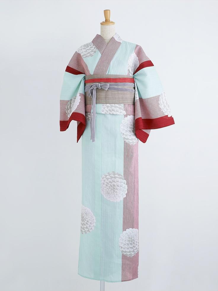 ダリアバルーン 浴衣・茜 | DOUBLE MAISON