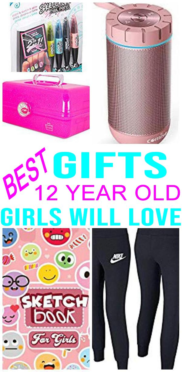 BEST Gifts 12 Year Old Girls Will Love Find The Best Presents For A 12th Birthday Christmas Holiday Or Just Because Perfect Those Tween Years
