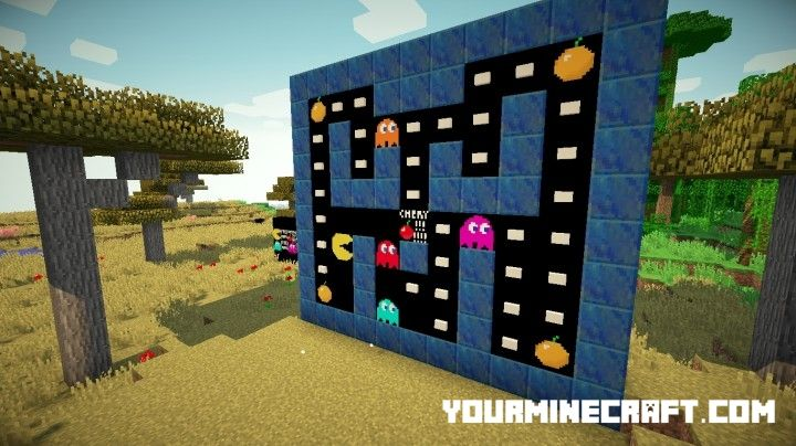 Download Pacman Resource Pack for Minecraft 1.8.2 Resource Packs. Pacman Resource Pack, 32x Resource Packs, Minecraft 1.8.1 Resource Packs,
