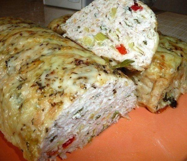 Фото к рецепту: Мясной батон