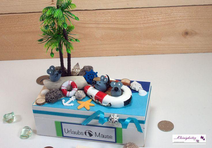 Geldgeschenk+Urlaubsmäuse,+Geld,+Mäuse,+Box+von+Kleinigkeiten+von+NB++auf+DaWanda.com