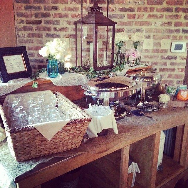 Rustic Barn Wedding Food Ideas: The Barn At Bridlewood Hattiesburg Ms