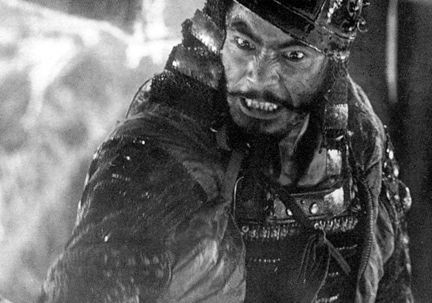 In 1954's The Seven Samurai (starring Toshiro Mifune) feudal warriors save a rural village. The slo-mo battles staged by director Akira Kurosawa, 44, were soon copied. The plot, too (as The Magnificent Seven). A later Kurosawa picture became the spaghetti Western that made Clint Eastwood; yet another inspired George Lucas to create Princess Leia and droids R2D2 and C3PO.