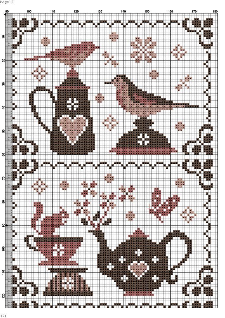 851 best cross stitch images on pinterest cross stitch - Du bruit dans ma cuisine ...